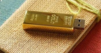 Wholesale - Free shipping 128GB USB flash memory drives USB 2.0 storage metal good ss(10PCS)