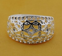 R209 Size:6,7,8,9 925 silver ring, 925 silver fashion jewelry ring fashion ring  /cdiakupatl