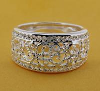 R211 Size:6,7,8,9 925 silver ring, 925 silver fashion jewelry ring fashion ring  /cdkakuratm