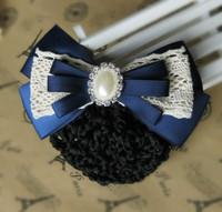 Quality handmade hair accessory hairpin hair accessory bow string bag