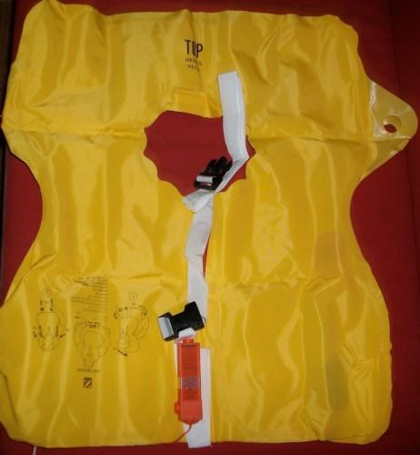 Original life vest automatic inflatable life vest adult life vest middot .(China (Mainland))
