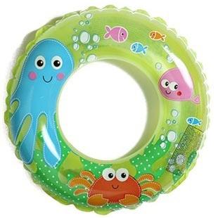 Intex child swim ring baby transparent floating ring child bunts 3 - 6 inflatable floating ring(China (Mainland))
