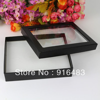 Free Shipping,Wholesale 4pcs/lot Jewelry Rings Earring Display ShowCase Organizer Tray Box 12 Slots Bar-3
