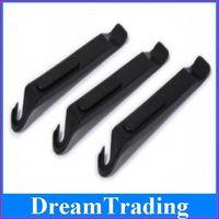 50pcs/lot Bike POM black plastic crowbar repair tool Grilled tire rods Bicycle shop tools Freeshipping