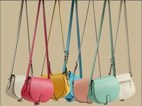 2013 mini fashion style ladies' cross-body bag designer leather handbag for girls many colors quality guarantee free shipping