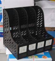 Table file holder hanaper plastic data rack file holder file box