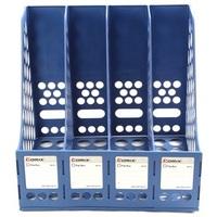 Office desk lashed stationery b2114 hanaper data rack box blue grey
