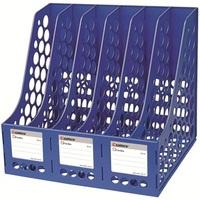 Office desk lashed stationery b2116 hanaper data rack box blue grey