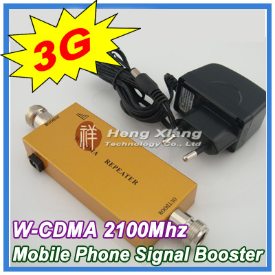 Best Price !!! Mini 3G W-CDMA Repeater Mobile Phone UMTS 3G Signal Booster WCDMA 2100Mhz Cell Phone Signal Repeater Amplifier