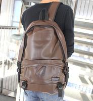 2013 PU waterproof backpack travel bag fashion preppy style college students school bag