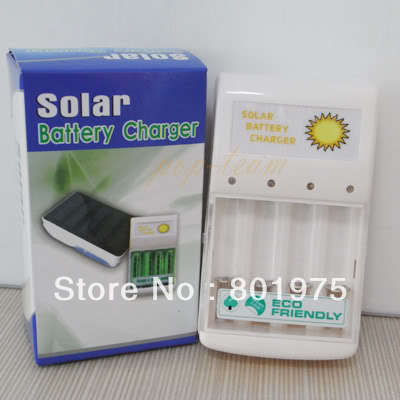 Wholesale Lots100 Solar Panel AAA, AA, C, D Battery Charger, camping ect(China (Mainland))