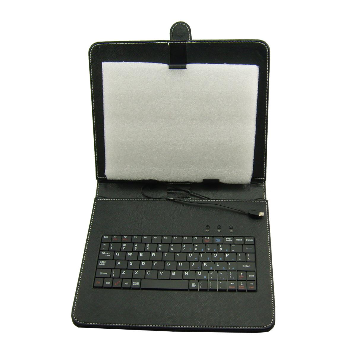 Circumscribing 9.7 flat keyboard holsteins belt mount small flat panel micro usb(China (Mainland))