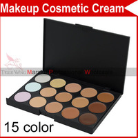 15 Full Color Concealer Pro Professional Eyeshadow Eye Shadow Makeup Cosmetics Lipsticks Lip Gloss Palette Tools Set 2202