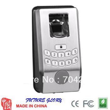 Free shipping ZksoftwareHL-100  fingerprint lock Biometric Fingerprint Door Lock