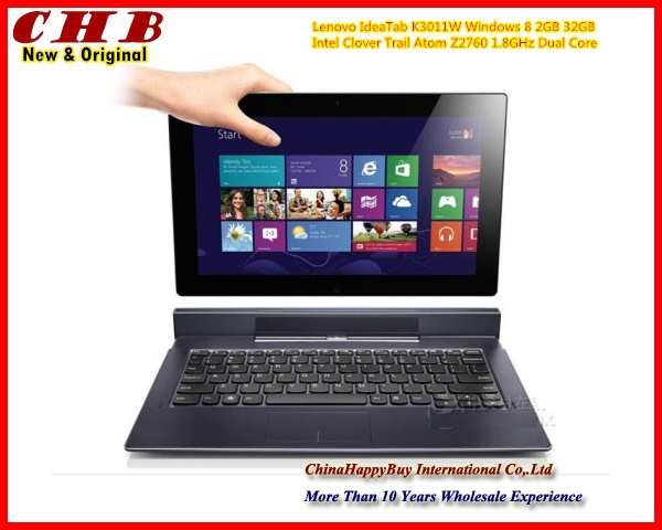 (In Stock) New & Original Lenovo IdeaTab K3011W big 11.6 '' 32G Intel Clover Trail Atom Z2760 Windows 8 Keyboard Tablet PC(China (Mainland))