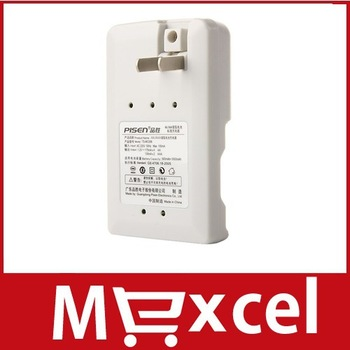 PISEN Ni MH Rechargeable Battery Charger (White) wholesale
