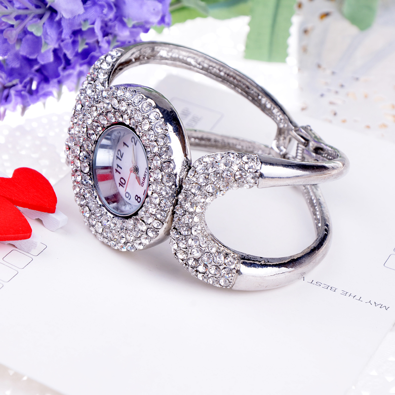 Fashion bling fashion elegant full rhinestone bracelet watch female bracelet watch accessories(China (Mainland))