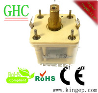 mini gang poly-film variable tuning capacitor