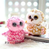 Ty big-eye-owl plush toy doll gift  -ckMrMty