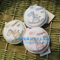 freeshipping Baby shower soft brush 11 TONGTAI 011 baby sponge bath rub circle baby bath rub independent packaging three-color