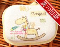 freeshipping Baby shower soft brush Tongtai 017 100% cotton towel bath cotton fabric baby sponge