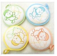 freeshipping Baby shower soft brush Circle bath rub baby bath rub baby cotton bath 4121