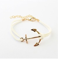 (Min order$10) Free shipping!Europe And The Tidal Range Major Suit Individual Anchor Bracelet!#1618