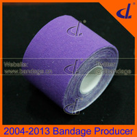 DL Brand Purple Color Kinesio tape 5cm x 5m Free Shipping d individually Kintape Box with Usage Manual