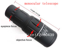 New Generation Dual Focus! 16x Zoom In 66M/8000M Field Monocular Telescope Sports Hunting Concert Spotting Scope with Green Film