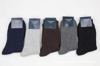 Free Shipping!  5pairs=10pcs Sale fast warm socks   Angora wool socks male fashion thermal  socks gentleman socks 061