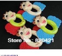 Vulli baby teethers handbell baby rattle teethers educational toys