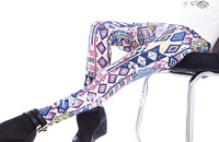 Min Order 5pcs Or Mix $15 Sexy Rhombus Geometric Printed Elastic Slim Leggings For Women 031