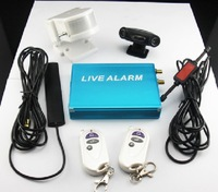 One & Only 2 Channel Vehicle GSM System Alarm System Sending Picture to Your phone