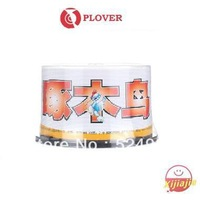 HOT- 2013 NEW  ,Plover Blank disc DVD-R,High quality A+ grade,Waterproof,Printable,16X,4.7GB,120min,50Discs,Free shipping