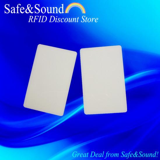 White UHF PVC Card Passive RFID Tag+Free Shipping(China (Mainland))