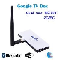 Whole sale New arrival smart M1 Android TV dongle quad-core android 4.2 RK3188 1.6GHz Cortex A9 quad-core Mini PC RK3188