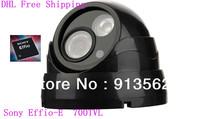 DHLFree Shipping: Camera Sony Effio-E Camera 1/3'' Sony Super Had CCtv CCD Color Camera 700 TVL Hemisphere