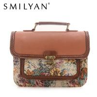 Free shipping!SMILYAN 2014 new summer classic bag vintage print handbags shoulder bag