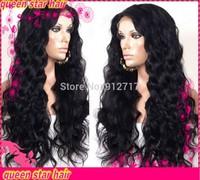 Free shipping !!! brazilian human  hair  loose wave glueless  full lace human hair wigs  for black women