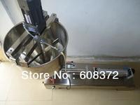 Free shipping,whole sale price,1000ML, 50Litre funnel, agitator, Single head Pneumatic liquid cream,pepper cream filling machine
