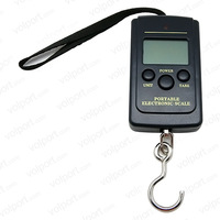 Free Shipping  40kg x 10g Portable Mini Electronic Digital Scale Hanging Fishing Hook Pocket Weighing Balance