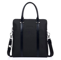 2013 brand man messenger bag Low price hot selling new arrived Vertical genuine leather briefcase Men bag thick fabric 8720-2