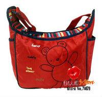 FREE SHIPPING carter's red messenger baby diaper bag lovely carter mummy bag blue shoulder baby bag pink carter nappy diaper bag