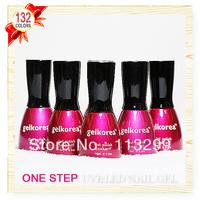 Free Shipping +One Step Nail Gel Polish Wholesale CNF Gelkorea 6Pcs Color Gel  15ml Soak Off Uv Led Sale