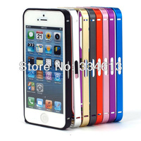 Fashion Ultra-Slim Metal Aluminium Protective Frame Bumper Case Frame for iPhone 5 5G 6th Free Shipping