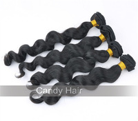 queen hair products 4pcs lot unprocessed virgin malaysian hair loose wave 100% human hair extension dyable dhl free shipping