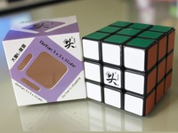 Free shipping!!Hotsell Dayan ZhanChi 57mm/5.7cm 3x3 speed cube/Puzzle,V5 cube black