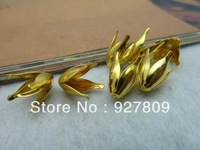 Diy accessories vintage handmade materials Ancient Gold  13*9mm 300pcs/lot  Flower Bead Caps Jewelry Connection