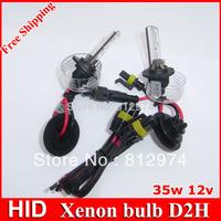 Free shipping!! 2pcs Xenon HID bulb AC D2H Mental hold 4300k, 5000k, 6000k