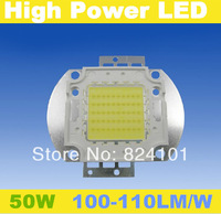 Free shipping power led 50w epistar 35mil chip white warm white led 100-110lm/w bulb lamp beads for diy flood light